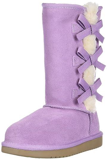 c1bb78035 Koolaburra by UGG Girls' K Victoria Tall Fashion Boot, Lavender Mist, 01  Medium