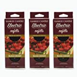 Yankee Candle - 3x Black Cherry Electric Plug-In Refill Twin Pack (6 Refills In Total)