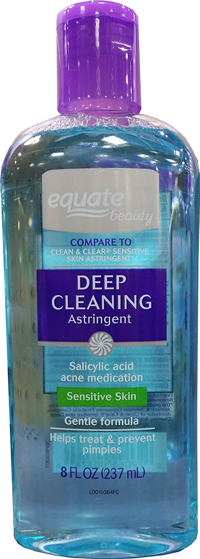 Equate Sensitive Skin Deep Cleaning Astringent, 8 fl oz dermalogica- overnight retinol repair 1% .27 oz