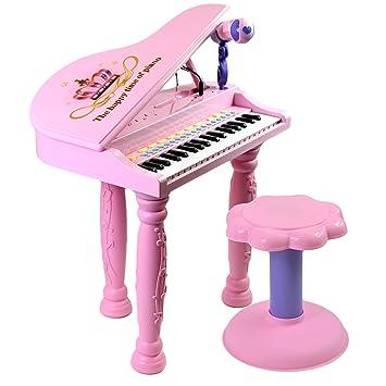 37 Key Childs Royal Pink Piano Keyboard Toy Musical Instrument Microphone Stool  sc 1 st  Amazon UK & 37 Key Childs Royal Pink Piano Keyboard Toy Musical Instrument ... islam-shia.org