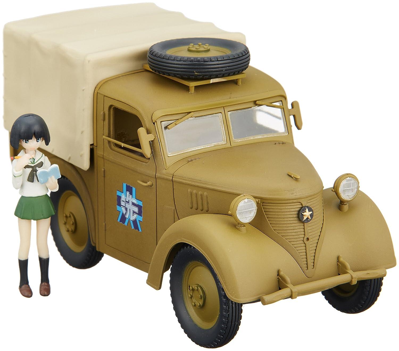 Barato 1/35 de la Prefectura de Oarai vehiculos de relaciones públicas de la escuela las ninas vehiculo de reconocimiento tipo 95 y jardin Midoriko (PVC pintado)