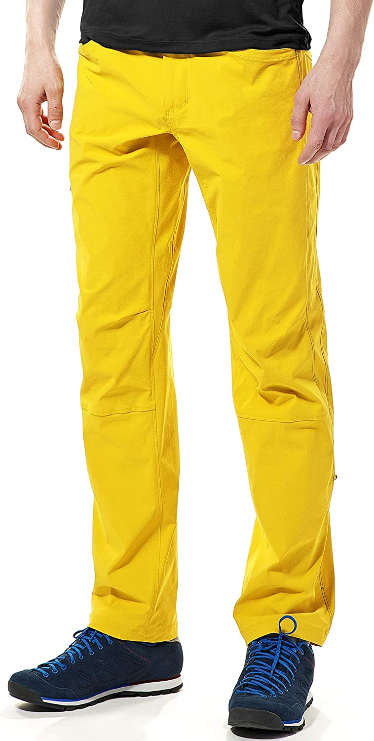 KAILAS Mens Quick Dry 9A Climbing Pants Stretch Lightweight Water Repellent Pants for Outdoor Hiking and Everyday Wear