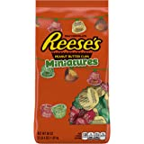 Reese's Chocolate Peanut Butter Cups Miniatures Candy, Perfect Baskets, 36 Ounce