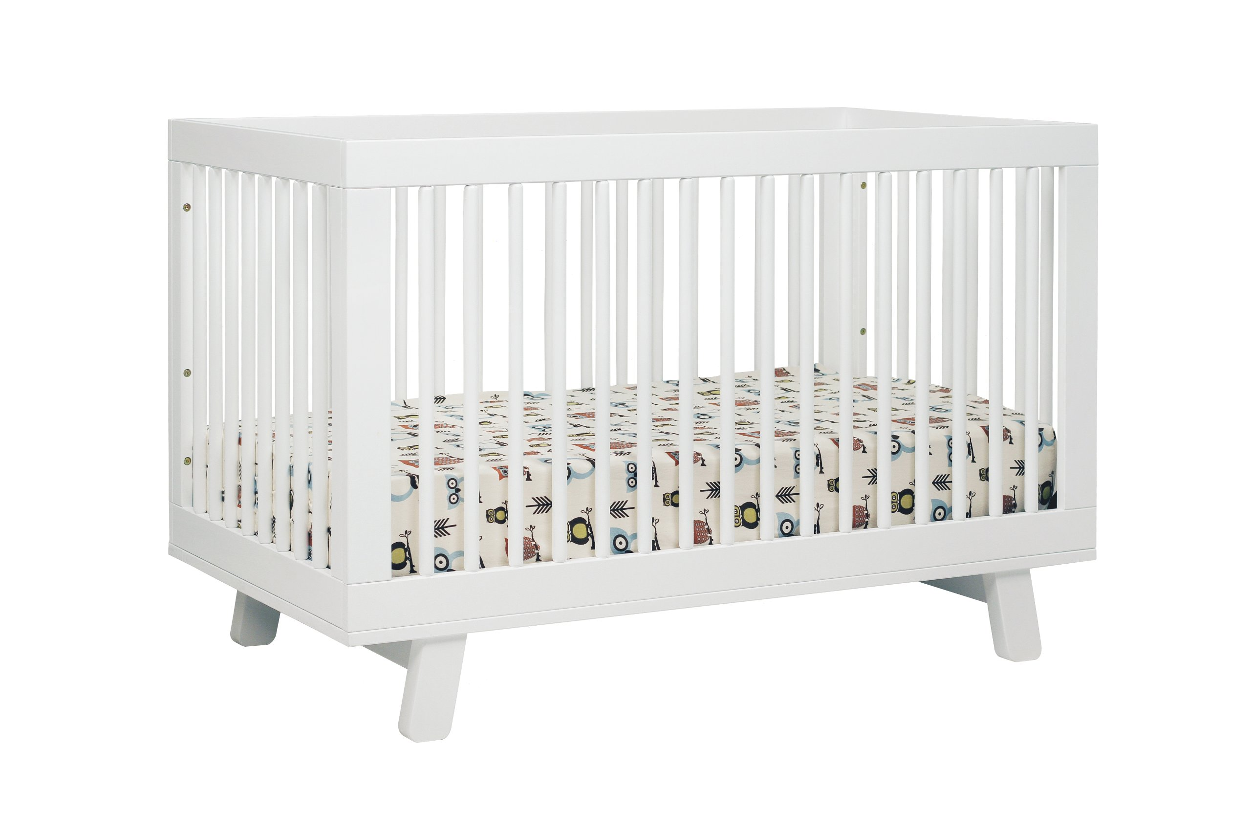 Babyletto Hudson 3-in-1 Convertible Crib with Toddler Bed Conversion Kit, White by babyletto (Image #2)