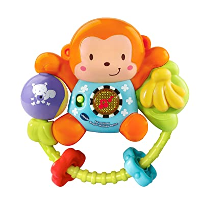 VTech Lil' Critters Singin' Monkey Rattle: Toys & Games