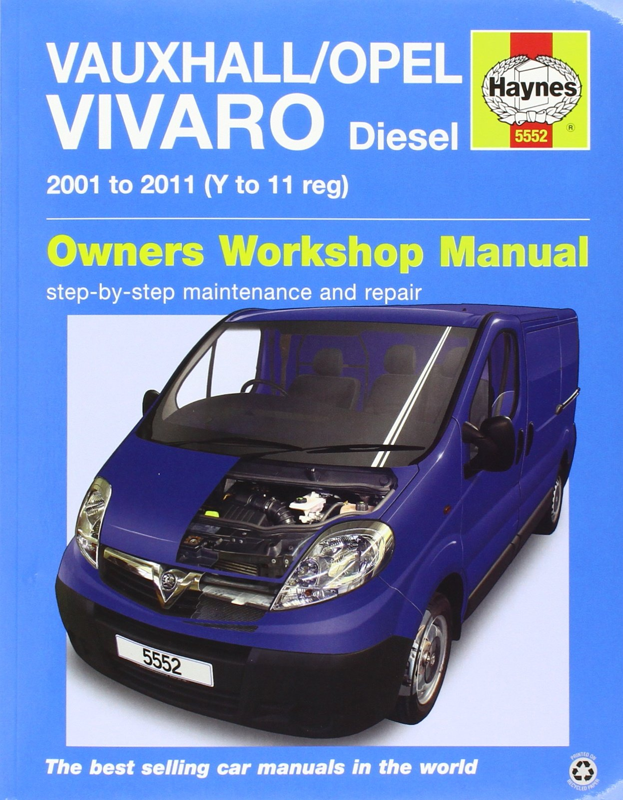 Vauxhall/Opel Vivaro Diesel 01 - 11 Haynes Repair Manual: Amazon.es: Haynes Publishing: Libros en idiomas extranjeros