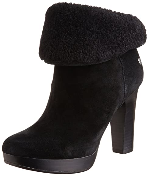 519b99497d4 Ugg Women's Dandylion Ii Black Ankle-High Leather Boot - 9M: Ugg ...