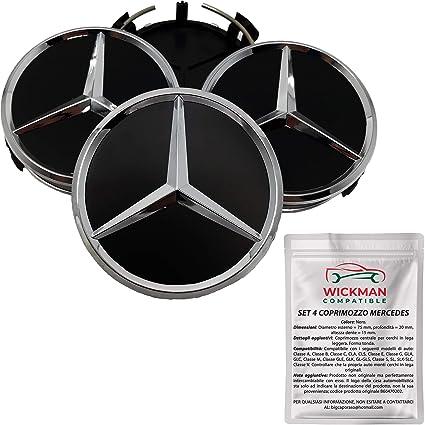 4 Tapacubos compatibles para Mercedes-benz - Compatible con ...