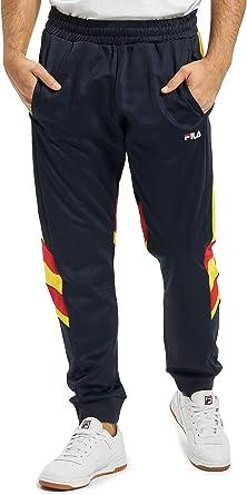 Fila - Pantalon 687240 Men Neritan Track Blue - 687240A465: Amazon ...