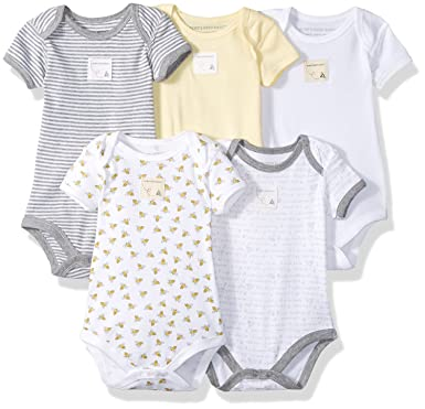 Burts Bees Baby Clothes Best Amazon Burt's Bees Baby Set Of 60 Bee Essentials Short Sleeve