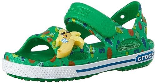 9f5a4d1d4ece crocs Crocband II Banana LED Sandal (Toddler Little Kid)
