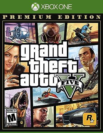 Grand Theft Auto V Premium Online Edition for Xbox One USA: Amazon ...