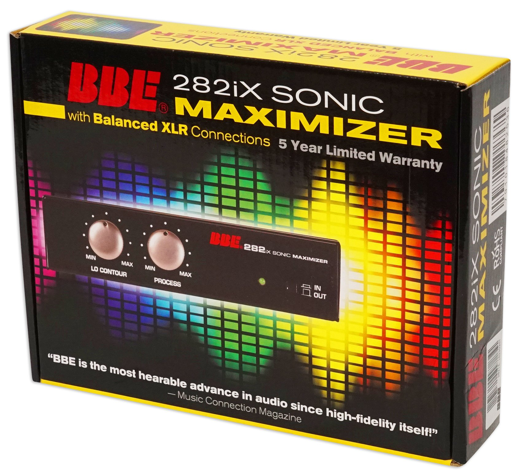 BBE 282iX Desktop Sonic Maximizer with Balanced 3-Pin XLR Connections by BBE (Image #6)