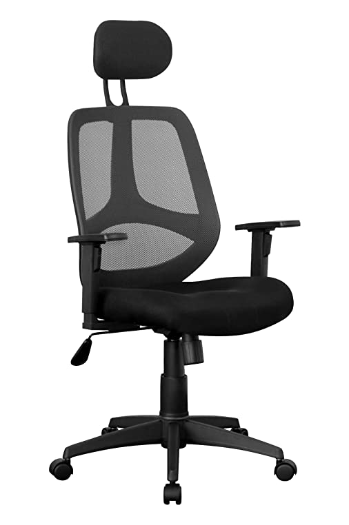 Bürostuhl ergonomisch höhenverstellbar  Amstyle Bürostuhl Florenz 2 Bezug Stoff Schreibtischstuhl ...