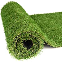 RoundLove Artificial Turf Lawn Fake Grass Indoor Outdoor Landscape Pet Dog Area (40X40in)