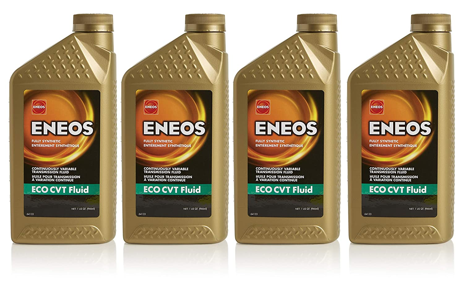 Eneos ECO-CVT Continuously Variable Transmission Fluid, 1 Quart (Pack of 4)