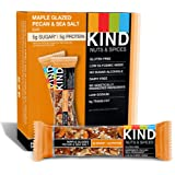 KIND Bars, Nuts & Spices, Maple Glazed Pecan & Sea Salt, 12 Bars 1.4 oz(40 g)[海外直送品]