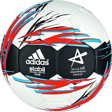 adidas Stabil Team 8 - Balón de Balonmano, Color Blanco/Azul/Negro ...