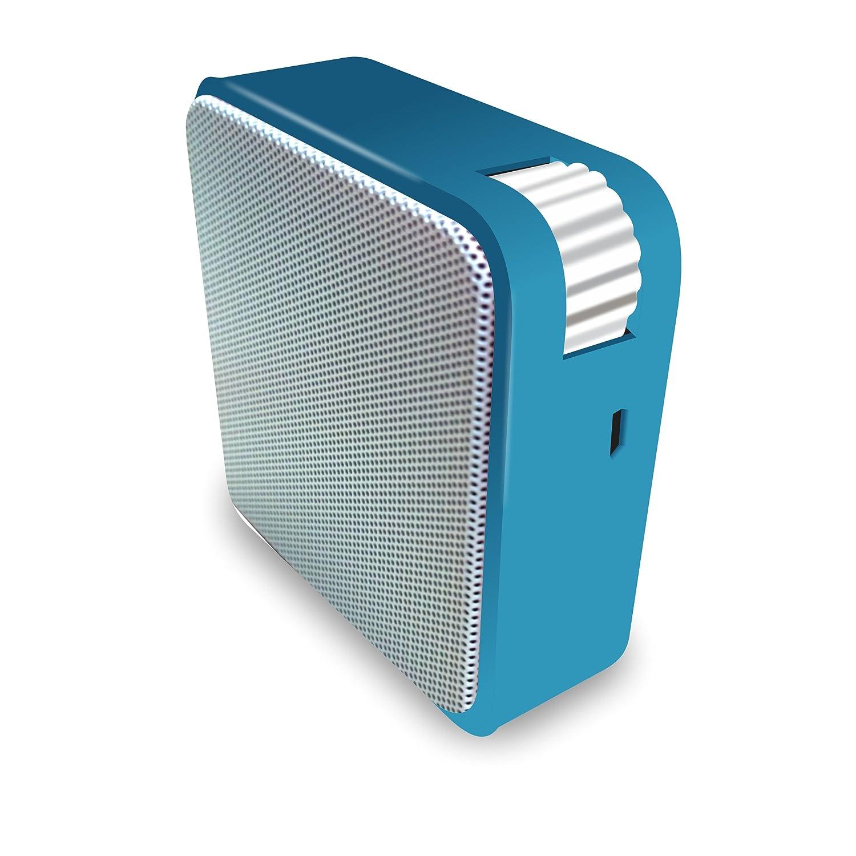 Portronics Cubix POR 138 Portable Wired Speaker (Blue) Price: Buy ...