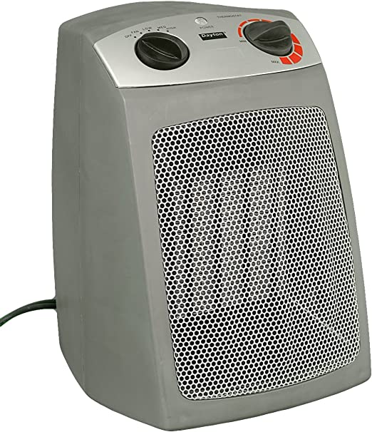 Amazon Com Dayton 1vnw9 Electric Space Heater With Added Safety