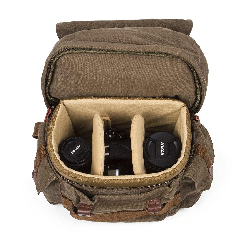 Amazon.com: Mochila de cámara bolsa de la cámara réflex ...