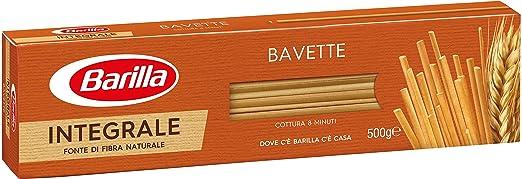 16 opinioni per Barilla- Bavette, Pasta Di Semola Integrale Di Grano Duro- 5 pezzi da 500 g