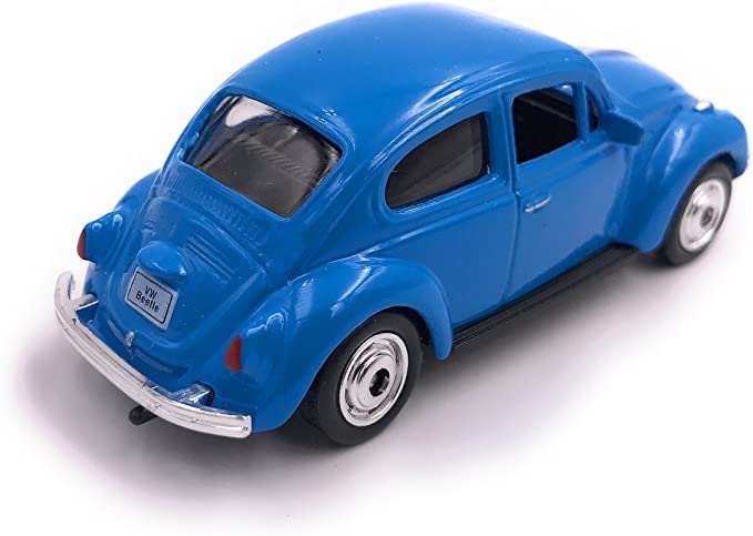 Welly Beetle Beetle Modello di Licenza Auto Prodotto 1:60 Rosso OVP