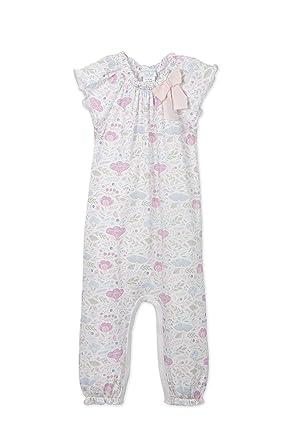 2827c6aaa8b5 Amazon.com  Feather Baby Girls Clothes Pima Cotton Short Sleeve Bow ...