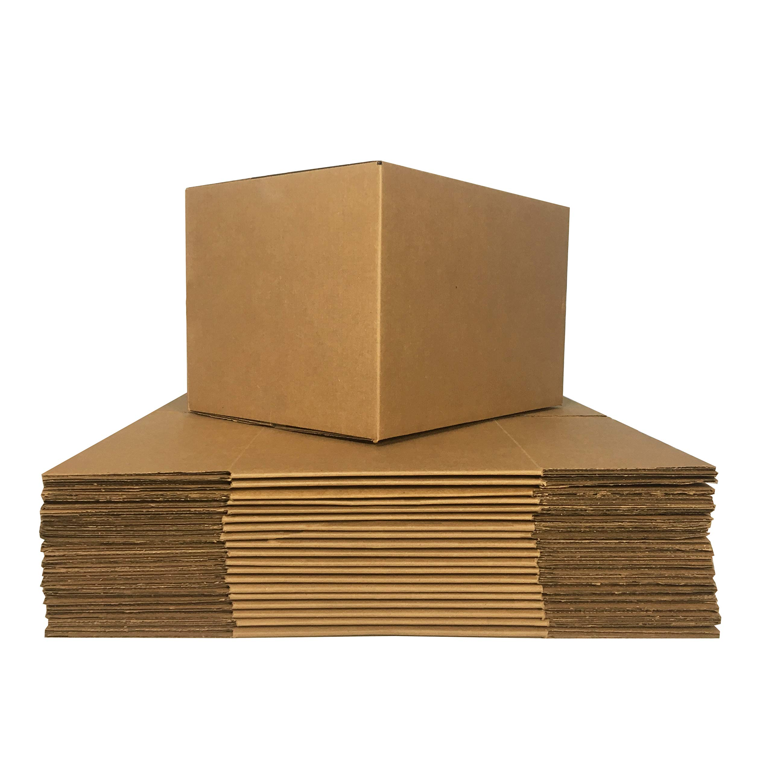 uBoxes Medium Moving Boxes, 18 x 14 x 12 inch, 10 Pack, Cardboard Box (BOXMINIMED10) by Uboxes (Image #3)