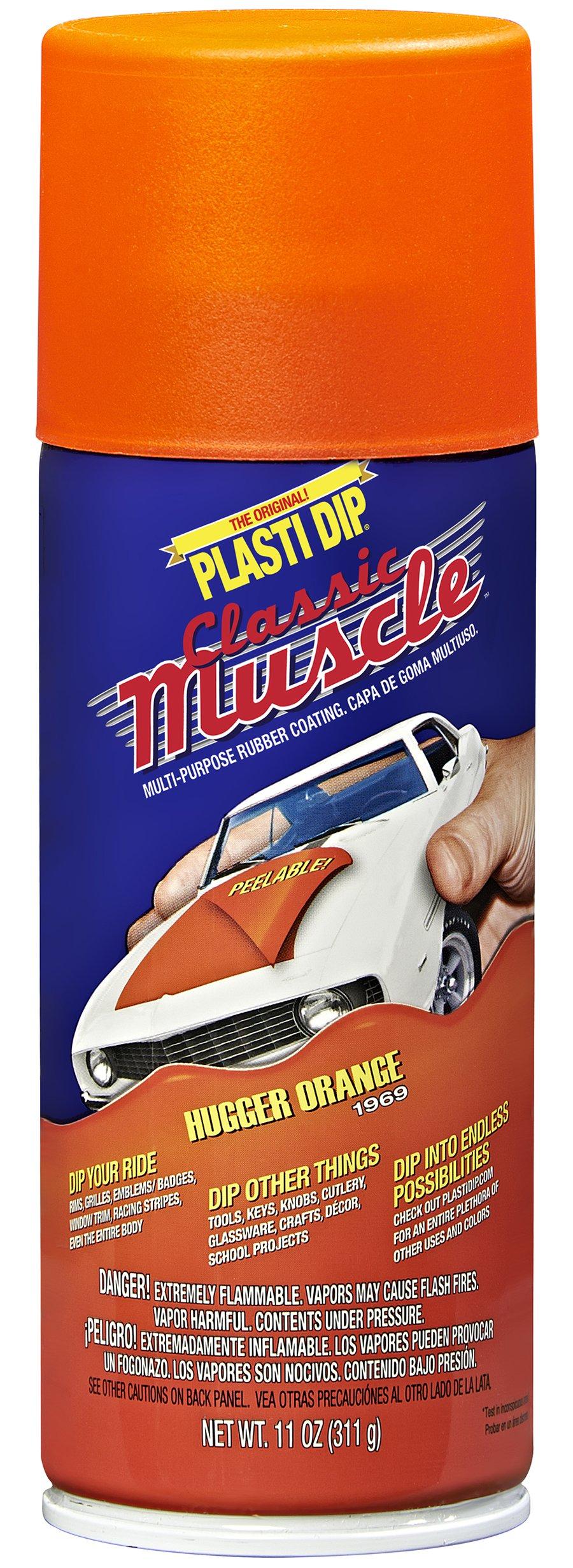 Performix 11307-6 Hugger Orange Classic Muscle Car Rubber Coating, 11 oz, 6 Pack