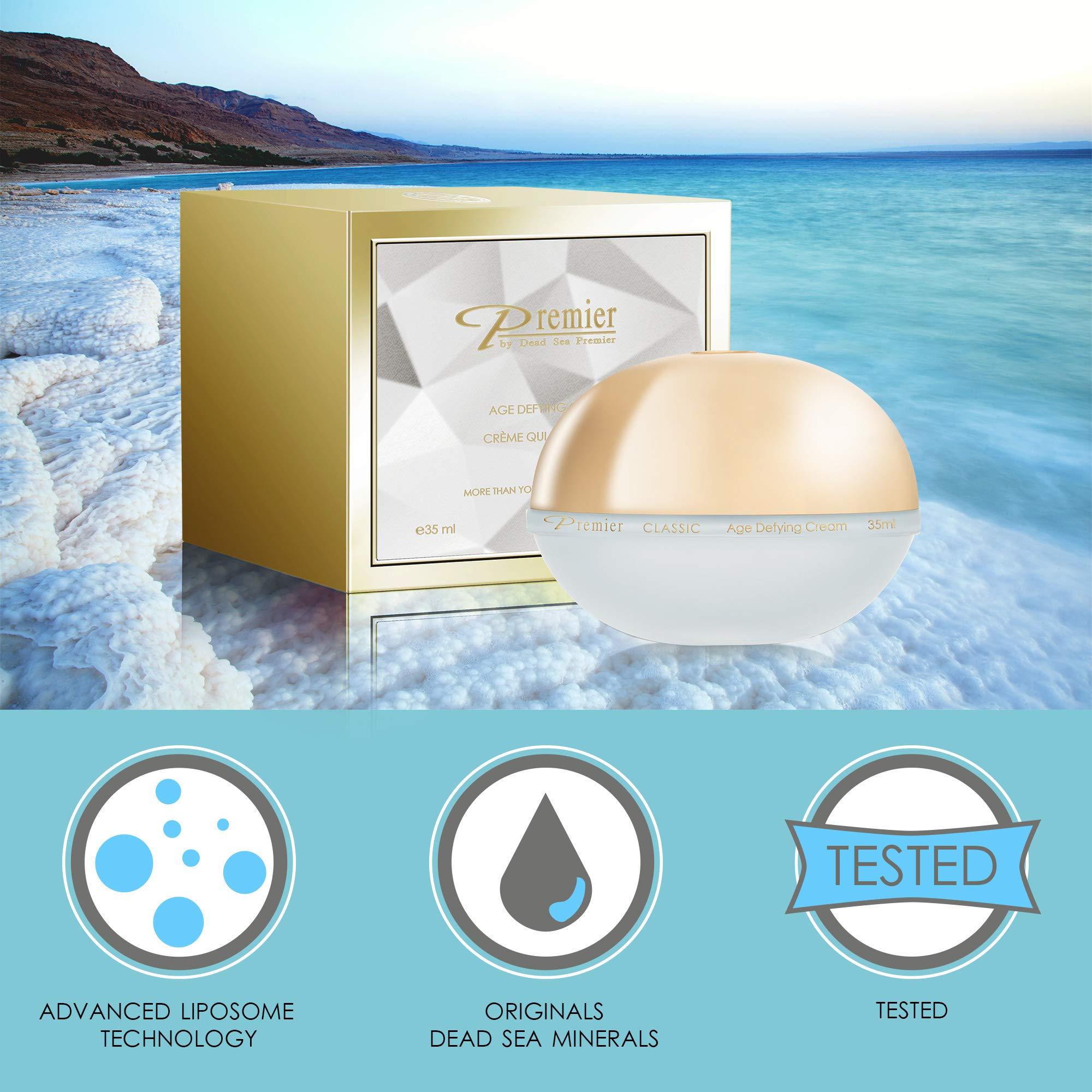 Premier Dead Sea Classic Age Defying Anti Age Cream, Reduce wrinkles by Premier by Dead Sea Premier (Image #3)