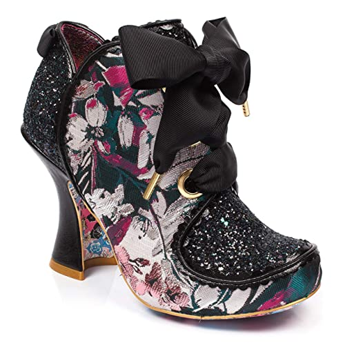 | Womens Irregular Choice Baroness Ribbon Block