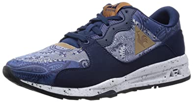 99a166c29061 Le Coq Sportif Lcs R 1400 Paisley Shoes - Dark Navy  Amazon.co.uk ...