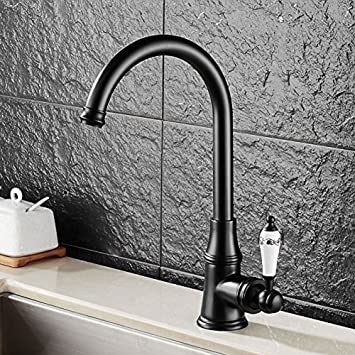 DMR Küchenarmatur Wasserhahn Messing Armatur Mit Schlauch Für Küche ...