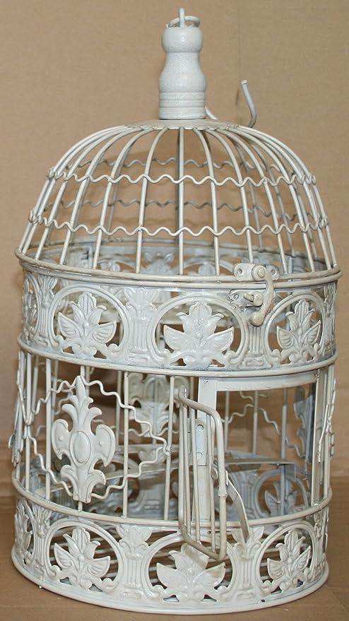 Deko de jaula Antiguo Colonial estilo antiguo Shabby Style jaula ...
