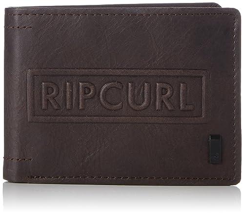 plus de photos 0c9d7 f9bc4 Rip Curl , Porte-monnaie homme - Marron - Marron (Dunkel ...