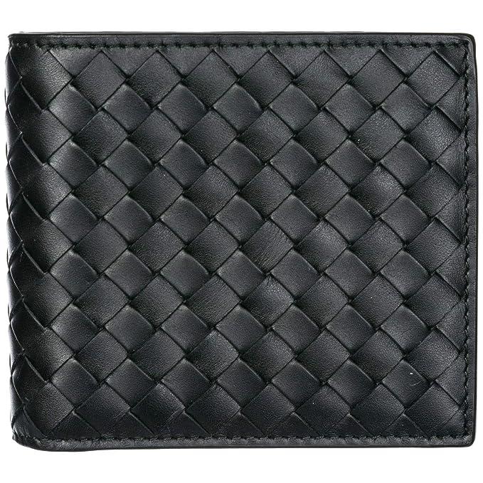 1ec2d480ec Bottega Veneta portafoglio uomo nero: Amazon.it: Abbigliamento