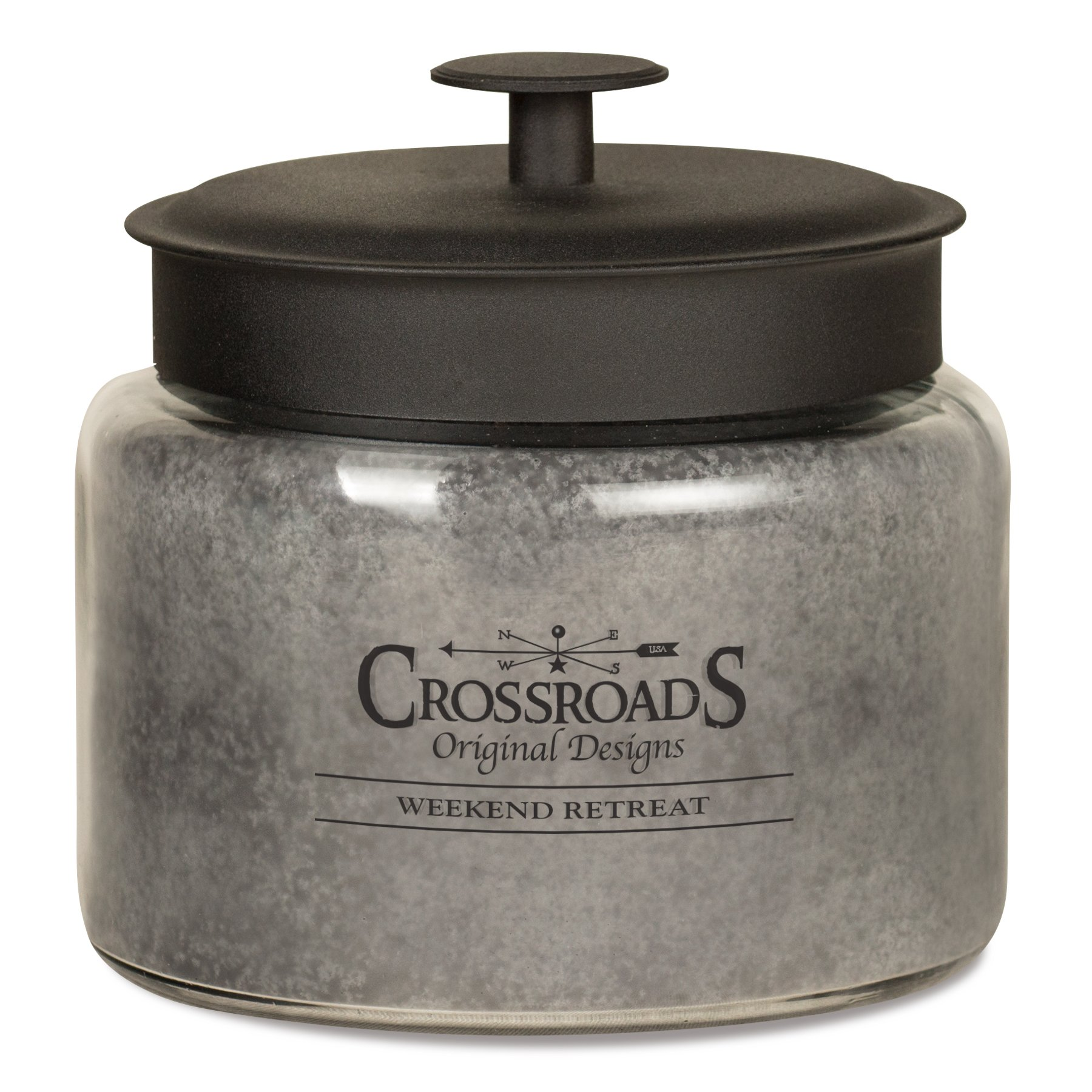 CROSSROADS ORIGINAL DESIGNS Crossroads Weekend Retreat Scented 4-Wick Candle, 64 Ounce