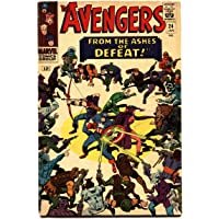 The Avengers #24 1966- Marvel Silver Age- Kang appearance FN