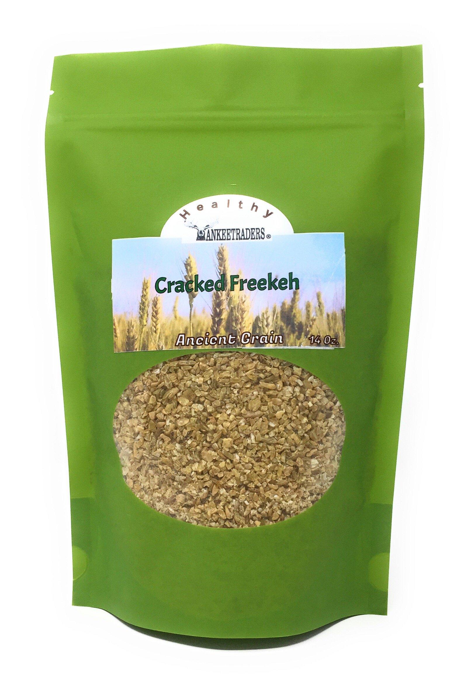 YANKEETRADERS, Healthy Freekeh, Cracked Grain, 14 Ounce Bag by YANKEETRADERS