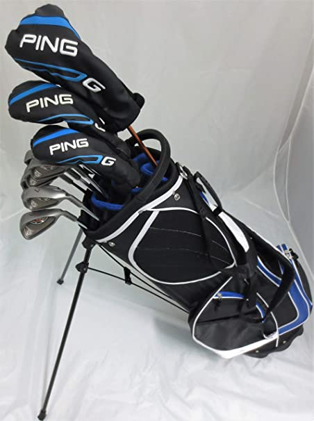 Amazon.com: Ping Golf Mens Complete Set Driver, Wood, Hybrid ...