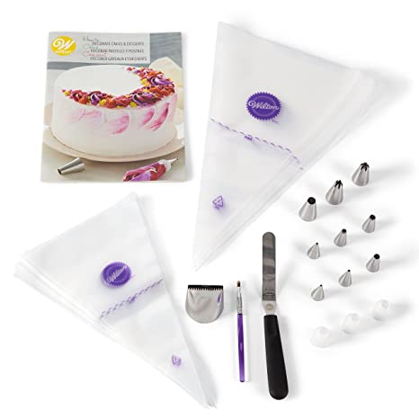Realistic Wilton 12 Piece Cupcake Decorating Set In Short Supply Baking Accs. & Cake Decorating