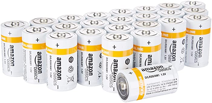 The Best Batteries Size D Amazonbasics