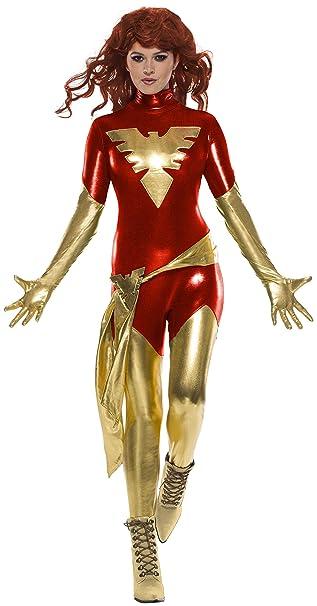Rubie\u0027s Women\u0027s Standard Marvel X,Men Dark Phoenix Costume, As As Shown  Extra