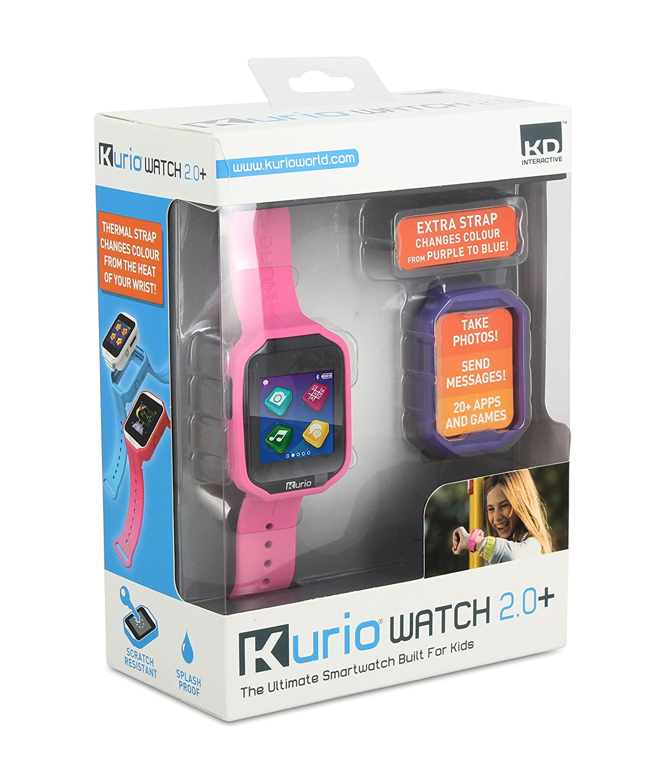 KURIO V 2.0 Kinder Smart Watch Watch Watch – Blau 5ece70