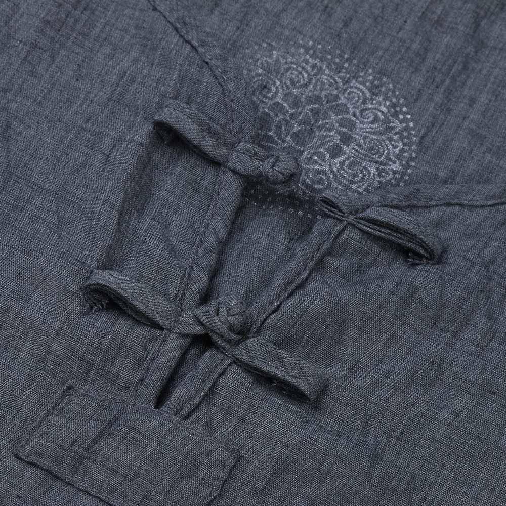 Xmiral T-Shirt Camicia Uomo Elegante Maglietta Manica Corta Casual Stampa Sportivi Vintage M-3XL