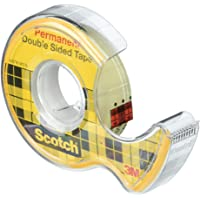 Scotch Permanent Double Sided Tape, 12.7mm x 11.4m, (137)