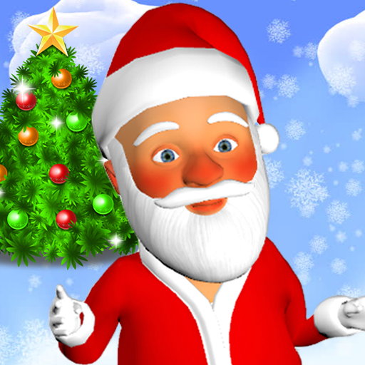 Talking Santa Claus (Best Snapchat Filters App)
