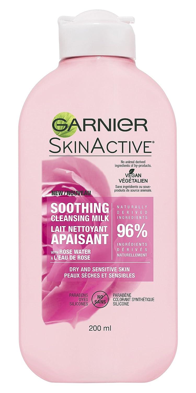 Garnier Skinactive Soothing Cleansing Milk with Rose Water, 0.226 kg