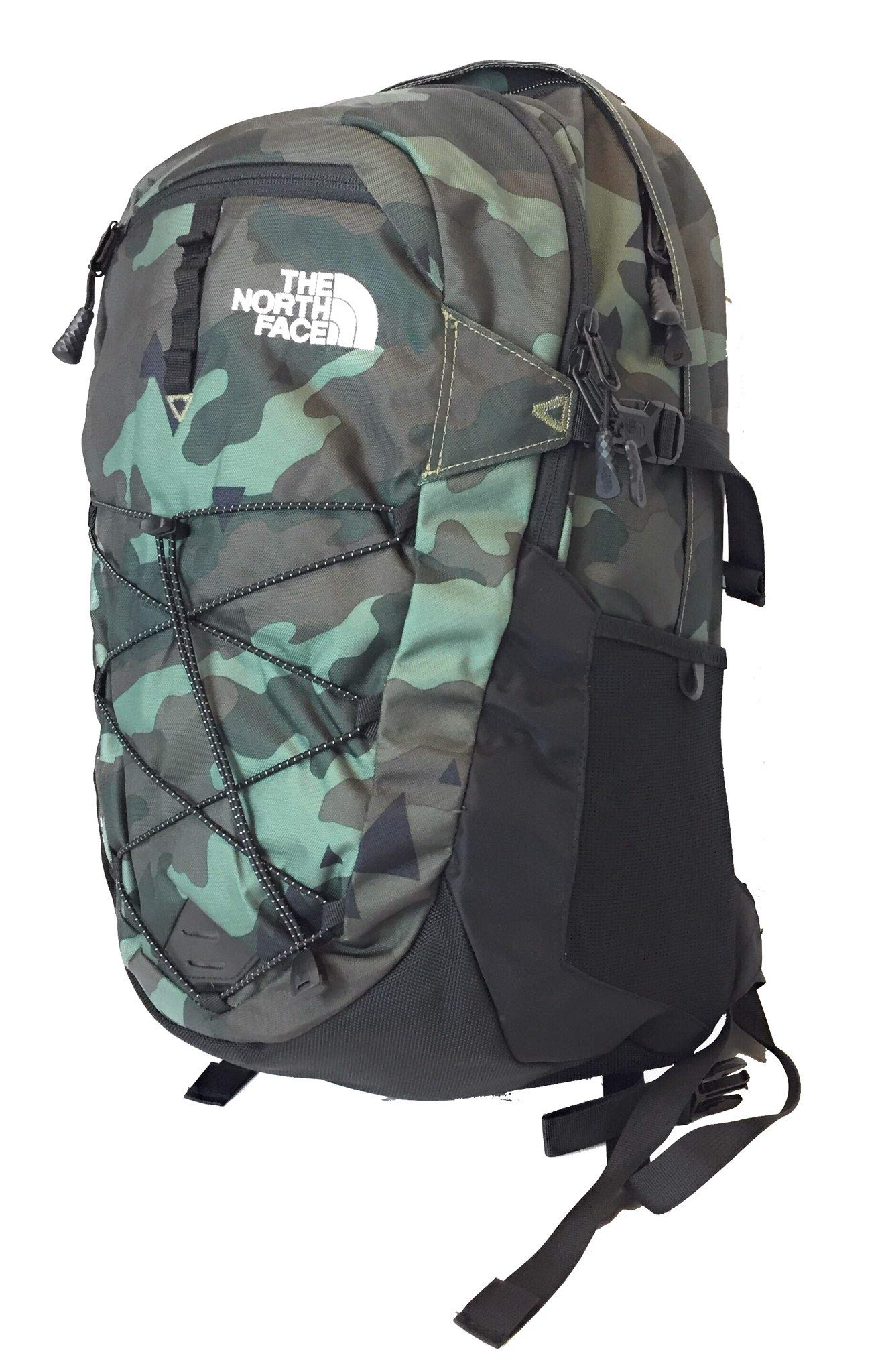 The North Face Borealis Unisex Outdoor Backpack, Olive Green Camo (Bright Olive Green Camo) by The North Face